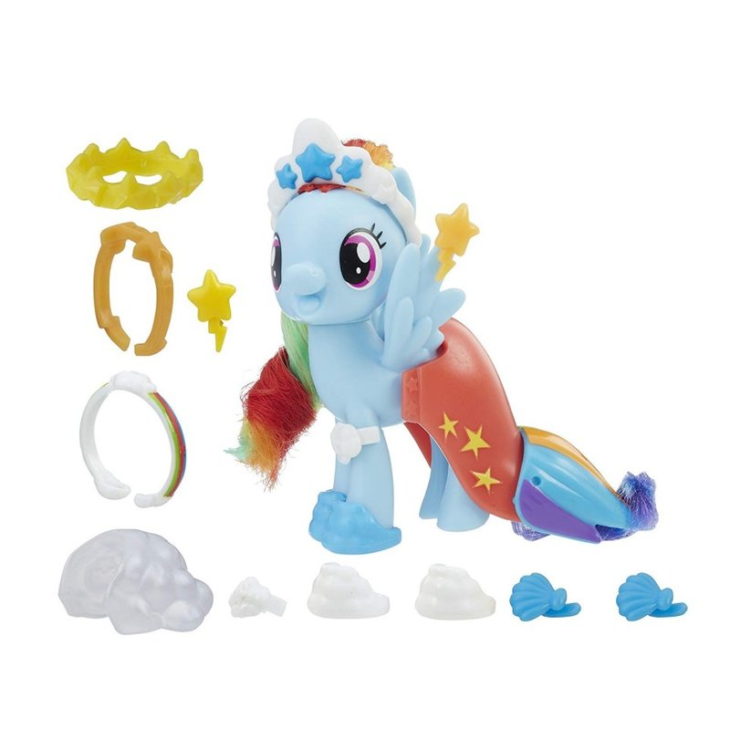 Set de joaca Rainbow Dash Land and Sea Snap-On Fashion My Little Pony